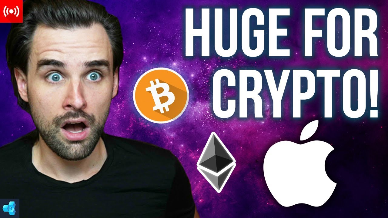 🔴 APPLE Getting Into Crypto!?
