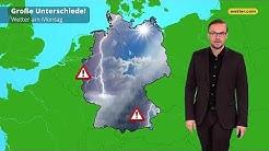 Wetter heute: Die aktuelle Vorhersage (12.08.2019)