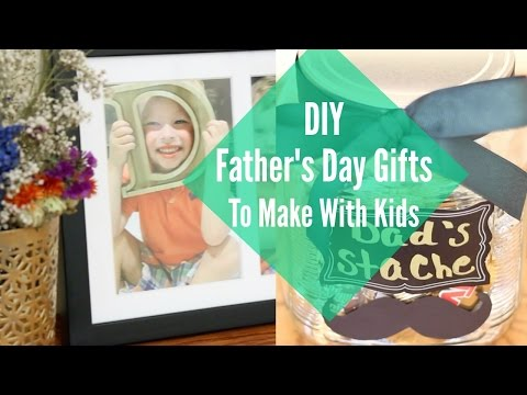 EASY AND AFFORDABLE DIY FATHER'S DAY GIFTS || Katie Bookser