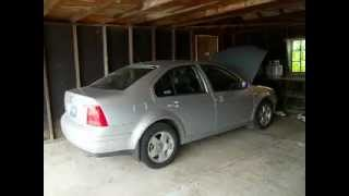 2002 Volkswagen Jetta TDI cold start with new glow plugs