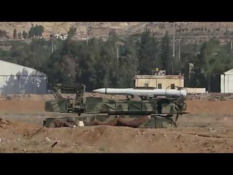 Syria: Mezzeh airbase damaged in US-led airstrikes