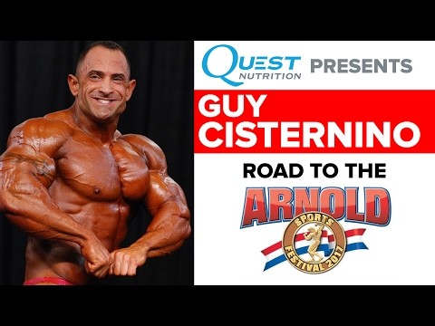 Guy Cisternino: Road to the Arnold Classic (Powered by Quest Nutrition)