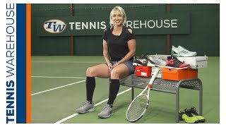 Bethanie Mattek-Sands Playtesting Tennis Shoes