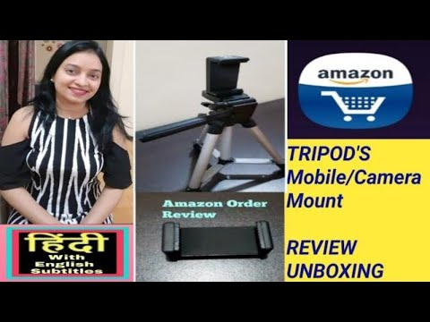 tripod's-mobile-&-camera-mount-review-unboxing-and-demo