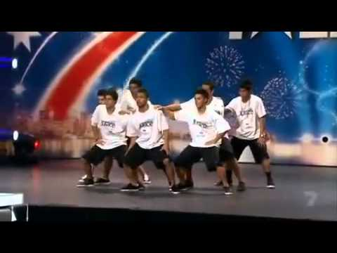 Justice Crew - Australia's Got Talent Audition