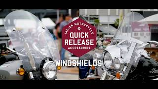Indian Motorcycle® Quick Release Parts and Accessories