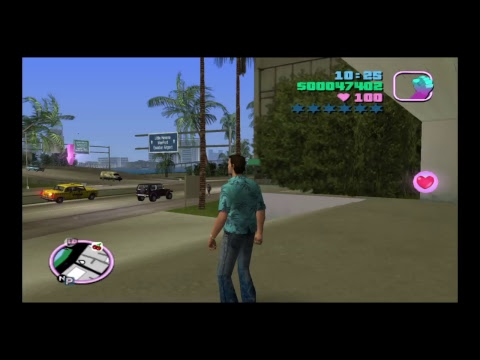Classic Ps2 Games Vice City Bank Heist