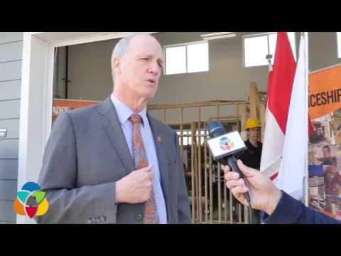 Okanagan College unveils Trades Training House