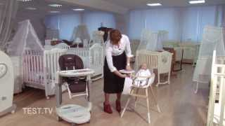 Стульчики для кормления Tatamia и OVO T-1533(ТЕСТ ТВ сравнивает два стульчика для кормления малышей: Tatamia за 14 тыс. руб. от итальянской Peg Perego и OVO T-1533й..., 2013-12-27T14:49:33.000Z)