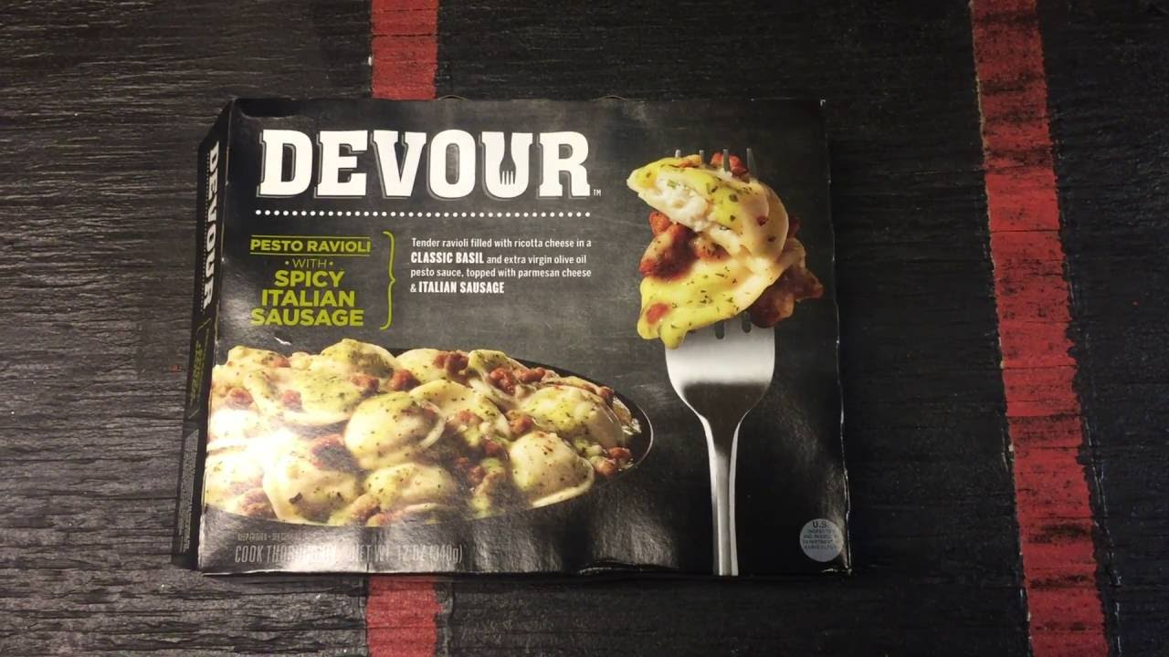 Devour Meal Review Youtube