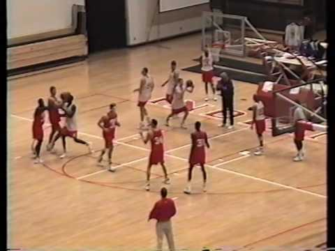 Bob Knight (Indiana) IU Practice #1 October 1995