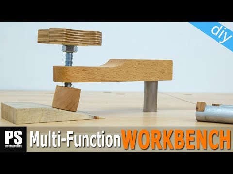 Holdfast Clamps & Bench Dogs/ Workbench Build Part 3