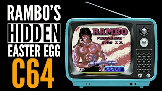 Commodore 64 RAMBO FIRST BLOOD II Hidden Easter Egg (2020)
