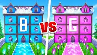 Boy vs Girl Fortnite House Battle! (PrestonPlayz vs BriannaPlayz)