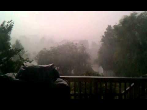 Derecho Storm in Mechanicsville, VA