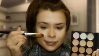 Chocolate makeup tutorial / Макияж горячий шоколад