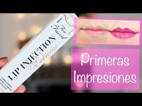 Too Faced Lip Injection Extreme | Primeras Impresiones
