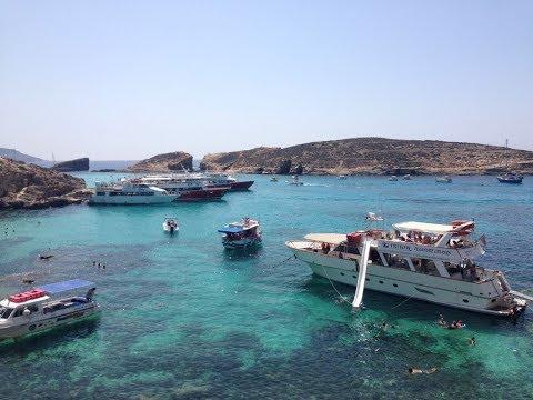Triton boat trip to Comino (the blue lagoon) and Gozo  - Malta
