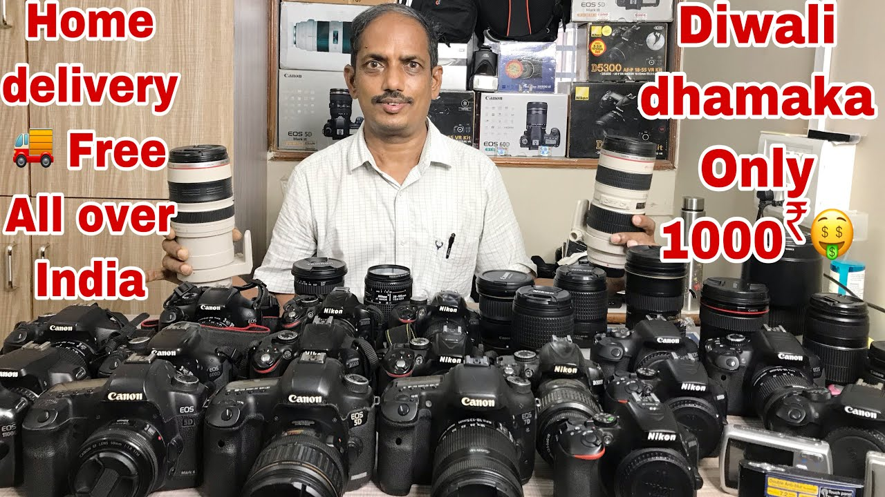 Download BEST CAMERA IN CHEAPEST PRICE ALL DSLR || FULL FRAME | MIRRORLESS || FESTIVAL DISCOUNT |#CHEEKUVLOGS