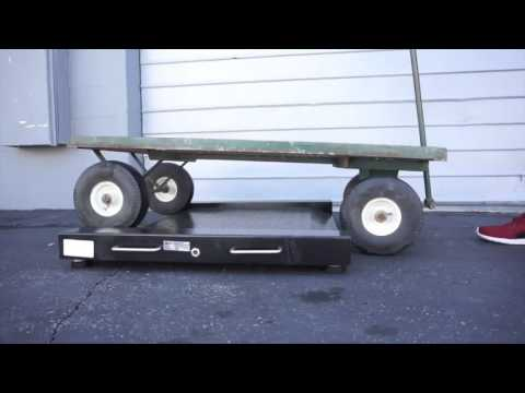 Roll-A-weigh Scale / Drum / wheelchair / warehouse / industrial SellEton.com