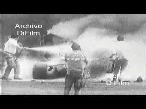 DiFilm - Fatal accidente del piloto Pedro Rodriguez en Alemania 1971