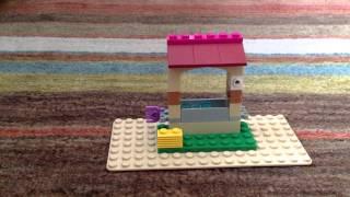 Lego Friends Olivias Newborn Foal 41003 Stop Motion Build