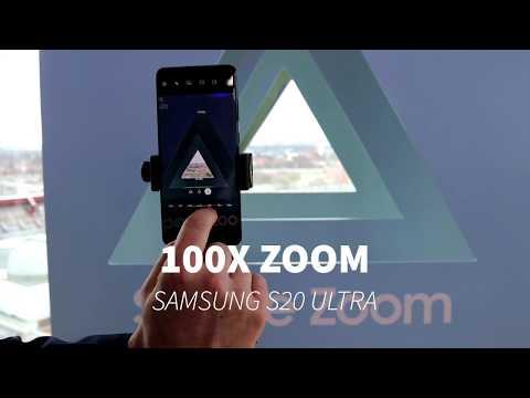 100x Zoom - Samsung S20 Ultra