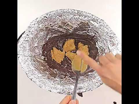 Reese's Slow Cooker Brownies // Brownies De Cocción Lenta