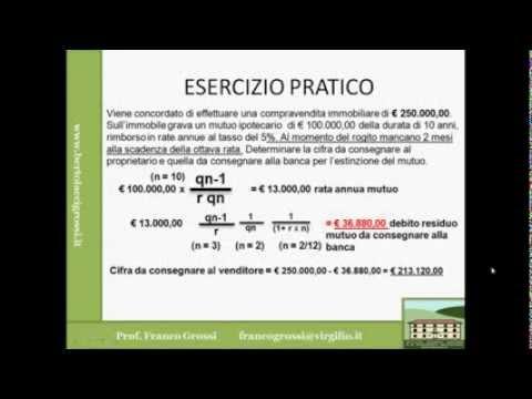MATEMATICA FINANZIARIA LEZIONE 8