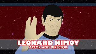 Leonard Nimoy (Biography for Children) Star Trek Dr. Spock Tribute (Cartoon Network) Animation