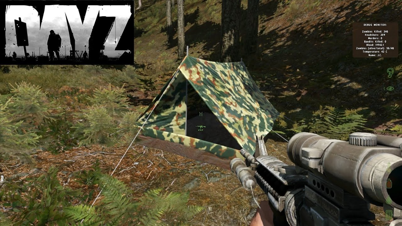DayZ Mod - How to use tents & DayZ Mod - How to use tents - YouTube