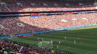 Испания  Россия 18 финала  Все голы все пенальти Лужники 1.07.18