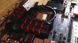 Как нанести правильно термопасту на процессор (CPU) и кулер!(