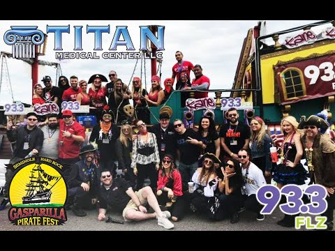Titan Medical Center's 2019 Gasparilla with the93.3 FLZ / iHeartRadio The KANE Show Krewe!