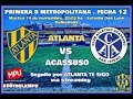 Atlanta vs Acassuso en VIVO - Primera B Metropolitana
