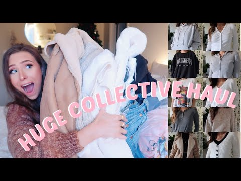 HUGE FALL & WINTER TRY ON HAUL   BRANDY MELVILLE, URBAN OUTFITTERS, TOPSHOP & MORE!