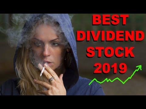 Best Dividend Stock Of 2019 Yield %6-8
