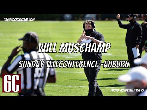 Will Muschamp Sunday Teleconference after Auburn win