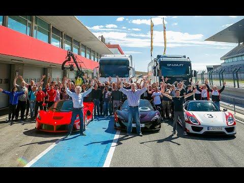 СРАВНЕНИЕ McLaren P1 - Porsche 918 - Ferrari LaFerrari. Grand Tour 1 сезон 1 серия