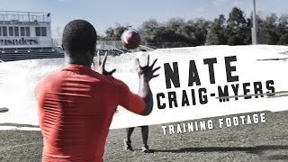 Watch prized signee Nate Craig-Myers train for Auburn