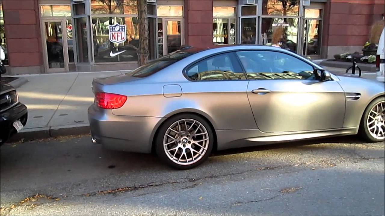 2011 BMW M3 Frozen Gray Coupe - Walkaround - YouTube