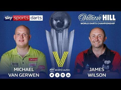 2018 World Darts Championship Round 2 van Gerwen vs Wilson
