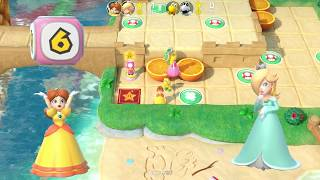 Super Mario Party: Girls Vs Boys in Watermelon Walkabout (Master CPU)