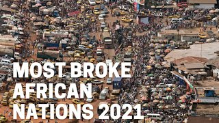 TOP 10 POOREST AFRICAN COUNTRIES 2021  World Geography Cost of living