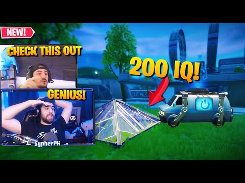 Nickmercs Shows Me A GENIUS Reboot Van TRICK! (Fortnite Battle Royale)
