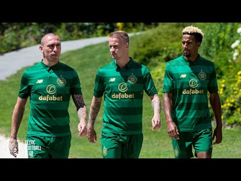 Celtic FC - Behind-the-scenes at the 2017/18 Away Kit launch