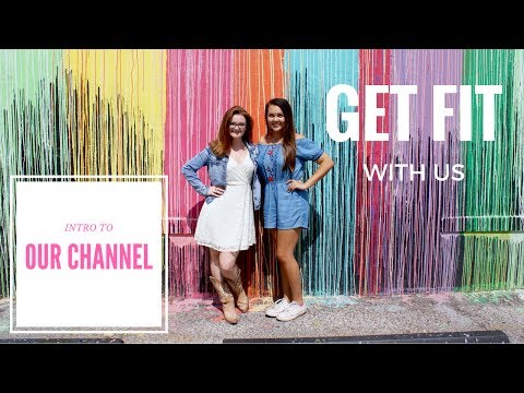 GET FIT WITH US // Intro to our channel and our fitness goals