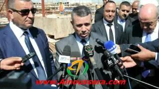 تصريح وزير الطاقة السيد صالح خبري في ختام زيارته للجلفة