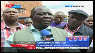 Former Makadara MP Reuben Ndolo claims he defeated George Aladwa fairly