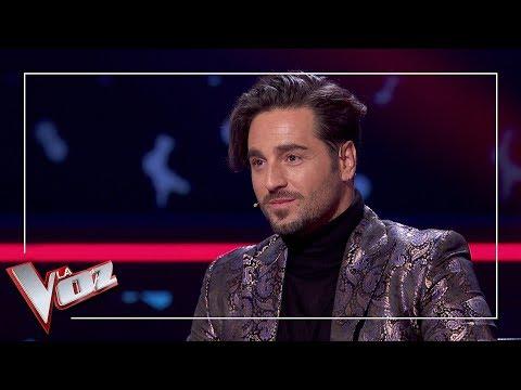 Eva González Emociona A David Bustamante | Momentazo | La Voz Antena 3 2019